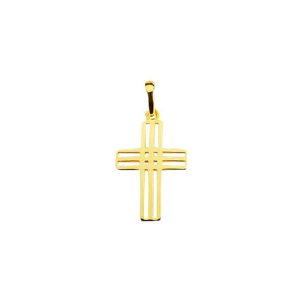 Anhänger Kreuz 585 Gold MIL15254