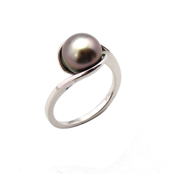 Ring Black Pearl BG04
