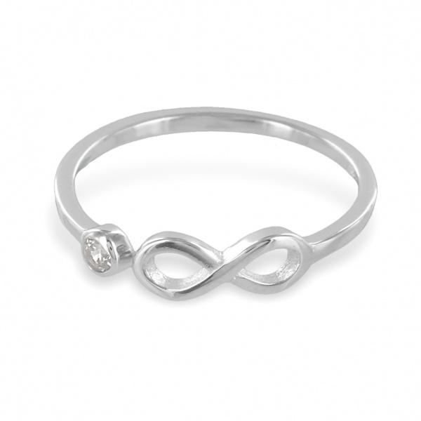 Ring 925 Silber unendlich 7828