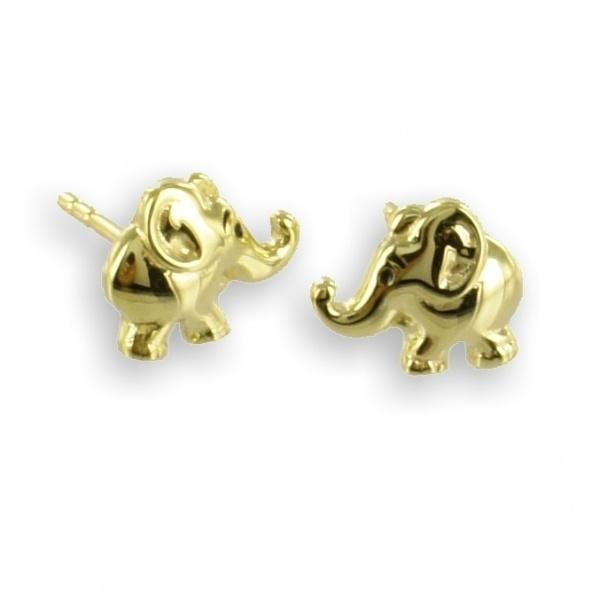Ohrstecker 333 Gold Elefant 3729