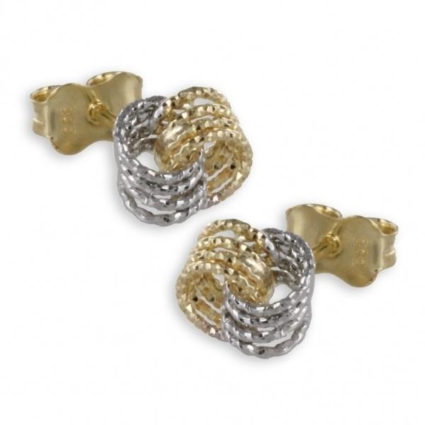 Ohrstecker 333 Gold Knoten 3521