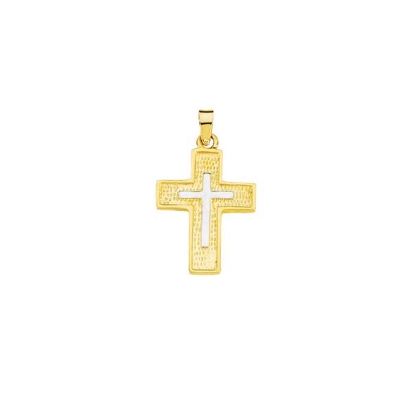 Anhänger Kreuz 585 Gold MIL15323