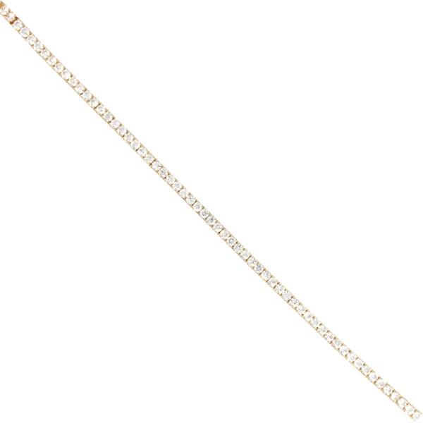 Tennisarmband 585 Gelbgold mit Zirkonia E10980