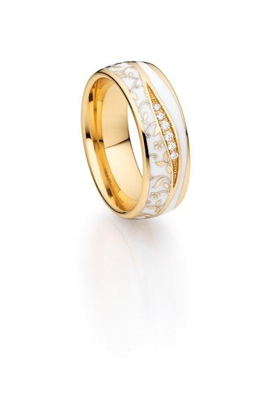 Diamantring Elise weiß 25-07557
