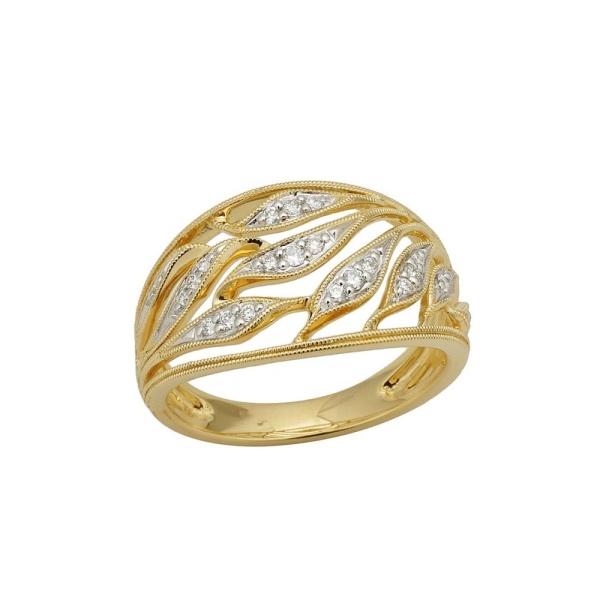Diamantring 585 Gold 102106
