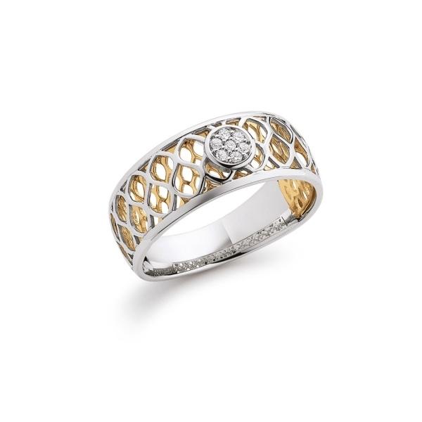Diamantring 585 Gold 103640