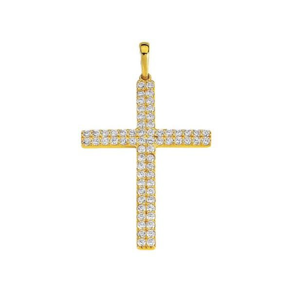 Anhänger Kreuz 585 Gold MIL15320