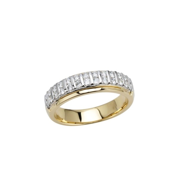 Diamantring 585 Gold 102113