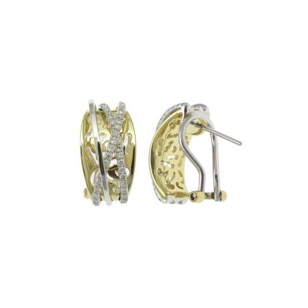 Diamantohrringe 585 Gold 102146