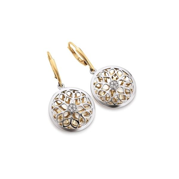 Diamantohrhänger 585 Gold 103634