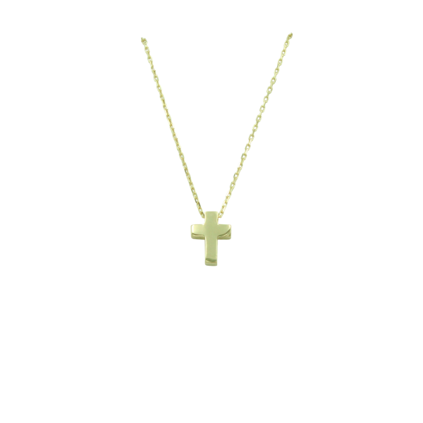 Anhänger Kreuz 585 Gold E10067