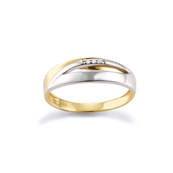 Diamantring 585 Gold 104873