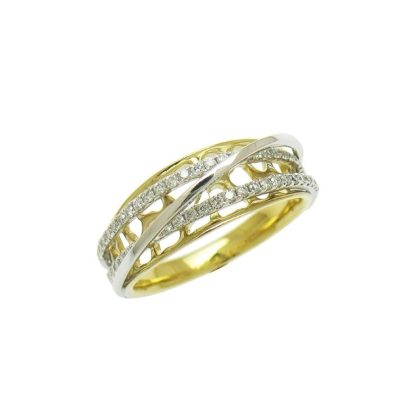 Diamantring 585 Gold 102094