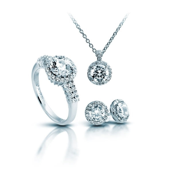 Set 925 Silber Carats