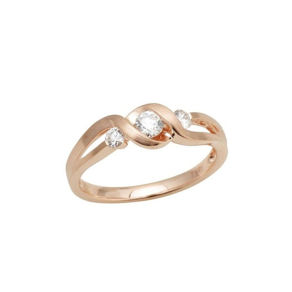 Diamantring 585 Gold 102104