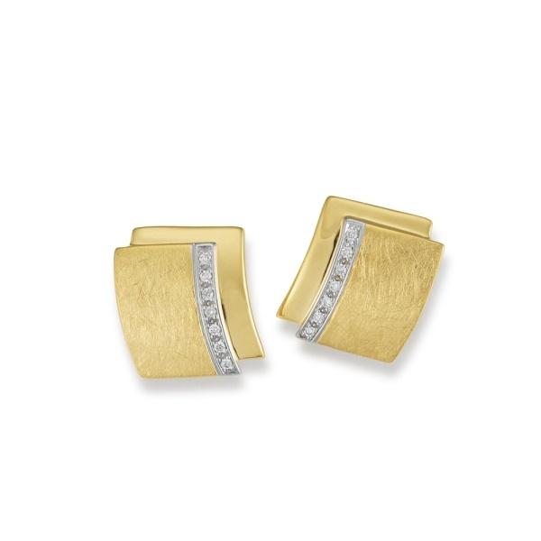 Diamantohrstecker 585 Gold 104843