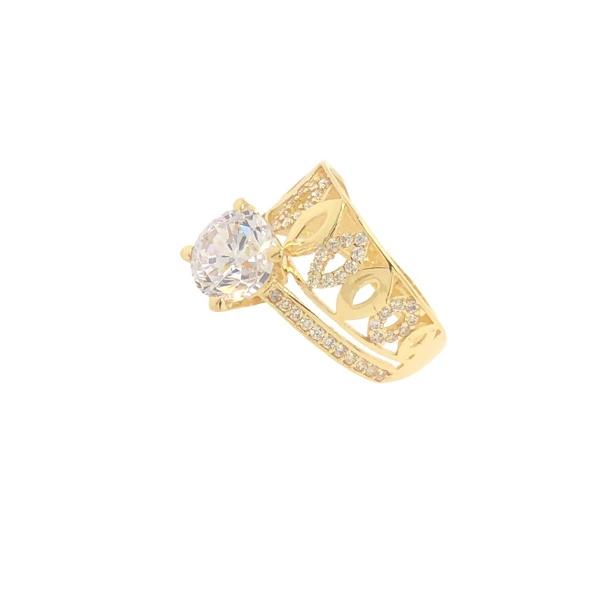 E10972 - Ring Fusion 585 Gelbgold mit Zirkonia