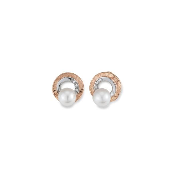 Diamantohrstecker 585 Gold 104839