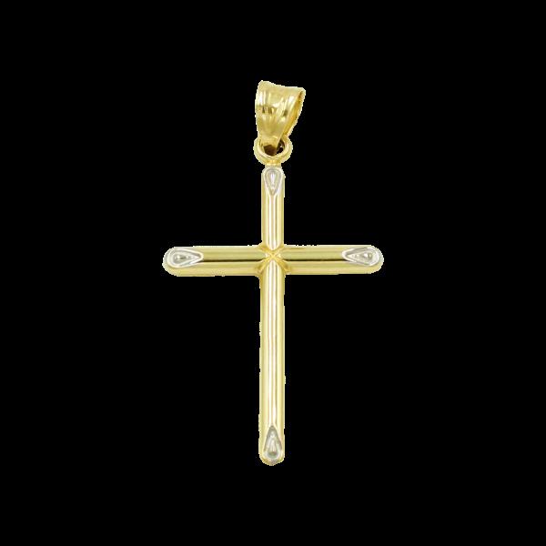 Anhänger Kreuz 585 Gold E10047