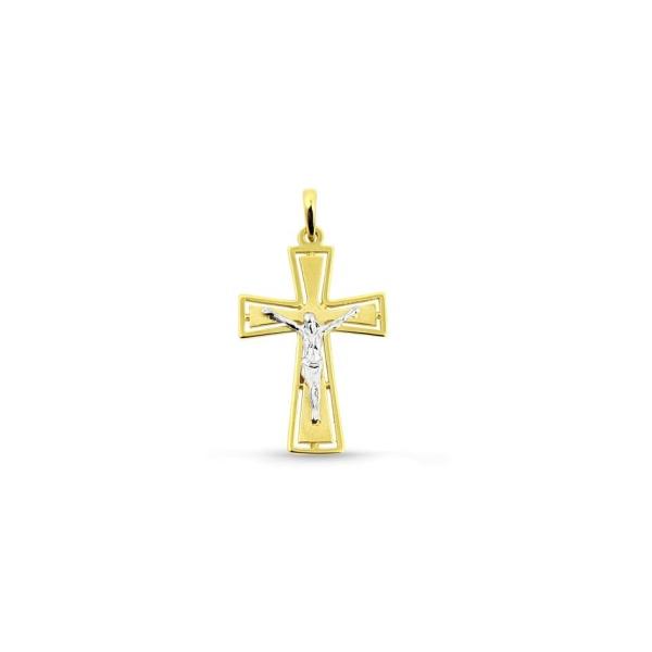 Anhänger Kreuz 585 Gold MIL15286