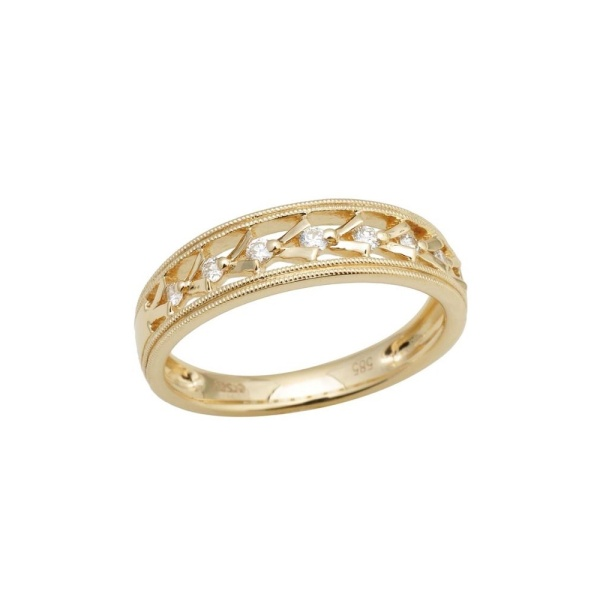 Diamantring 585 Gold 102112