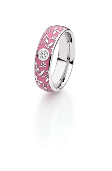 Diamantring Elise pink 25-27556