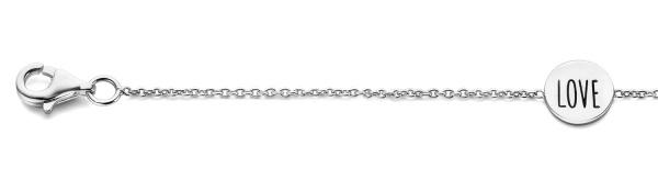Armband 925 Silber Glücksbringer 55800