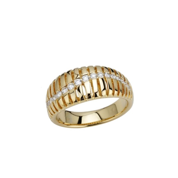 Diamantring 585 Gold 102111
