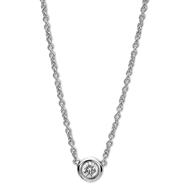 Diamantcollier 585 Gold 105998