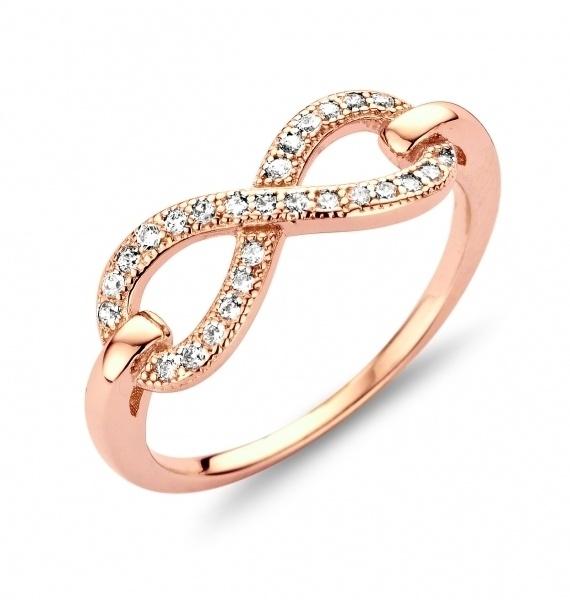 Ring 925 Silber unendlich 56174