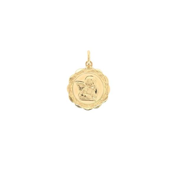 Anhänger Schutzengel 585 Gold E11079