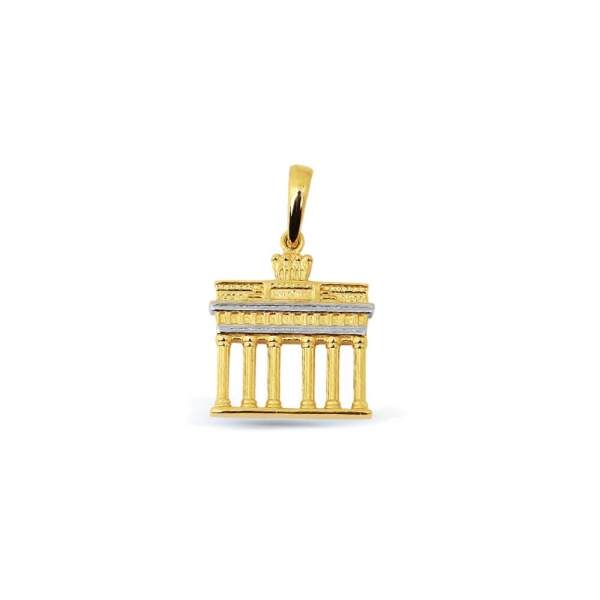 Anhänger Brandenburger Tor 585 Gold E10129 Klein