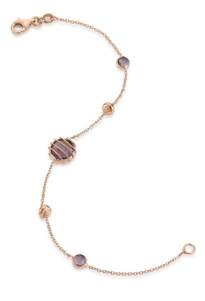 Amethyst Armband 585 Gold 105751