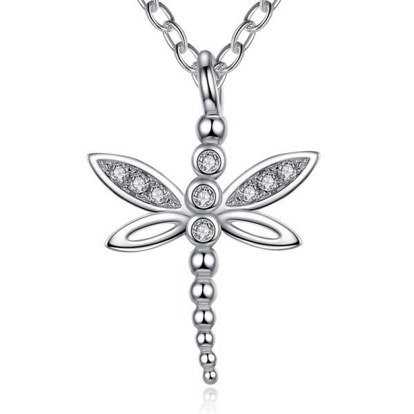 Collier 925 Silber Libelle 106041